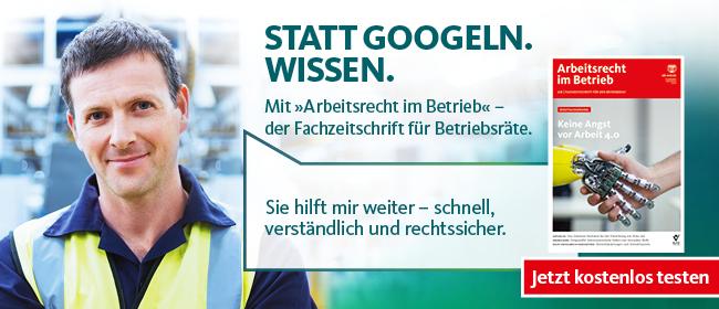 Arbeitsrecht im Betrieb - jetzt testen!