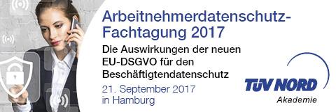 TÜV Nord: Arbeitnehmerdatenschutz